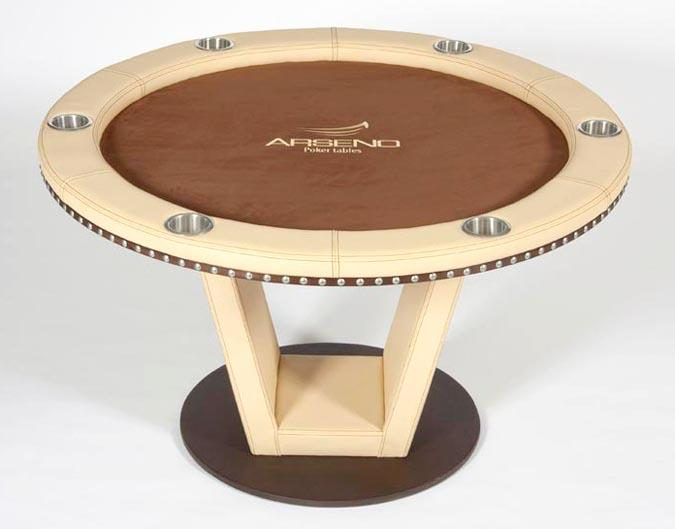 Arseno Round Poker Table