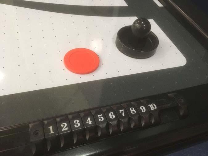 Table de jeu hockey sur coussin d'air Brunswick V-Force de première qualité