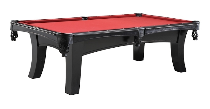 Legacy Ella Onyx Pool Table - Ella pool table