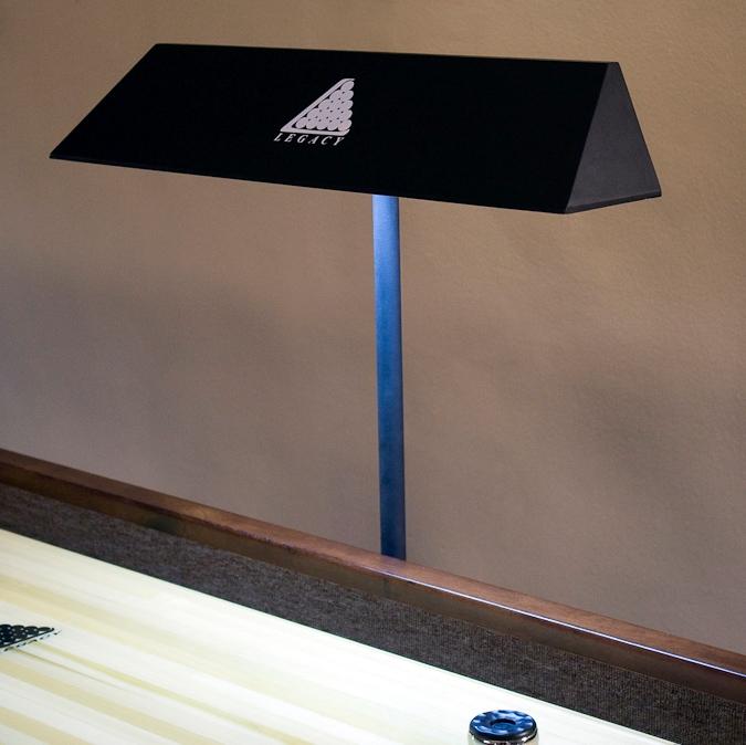 Ensemble de deux lampes pour shuffleboard