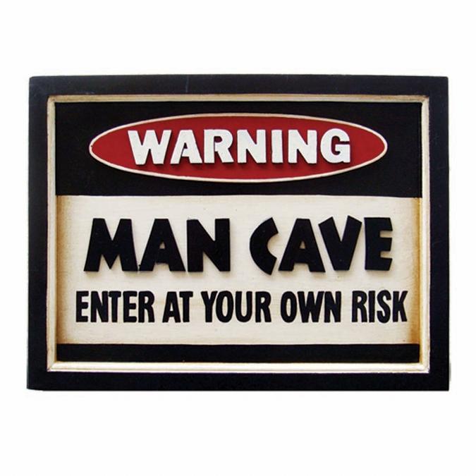 3D Pub Sign - Man Cave