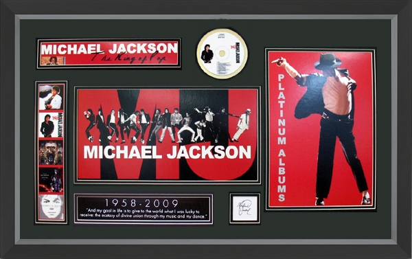 Memories of Michael Jackson Framed Print