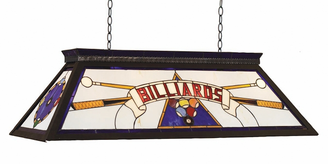 Lampe de billard Démontable - Billiards - Bleue