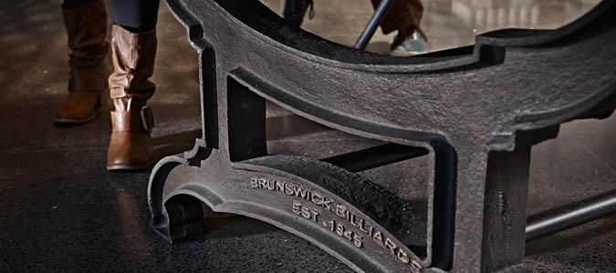Table de billard rustique Brunswick Birmingham