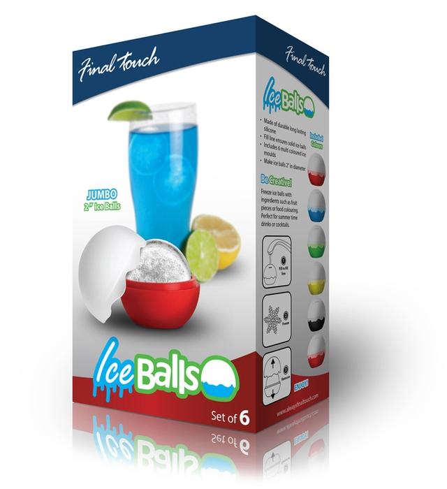 Ice Balls form