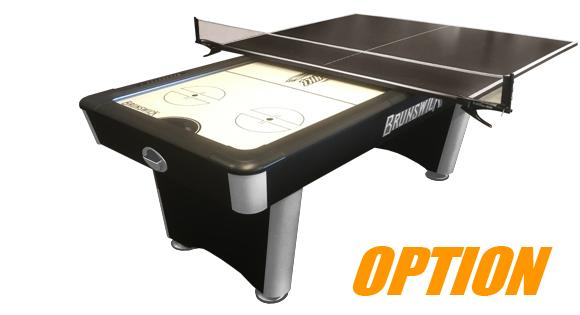Premium quality Brunswick Wind Chill air hockey table with durable components
