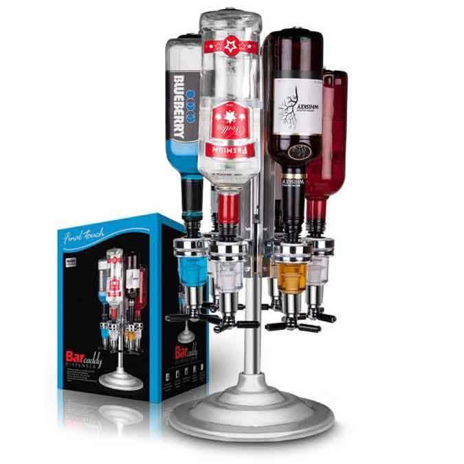 6 Alcohol Bottle Dispenser