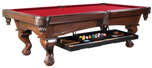 Legacy Perfect Drawer For Pool Table Billiard Accessory Storage - Under pool table storage