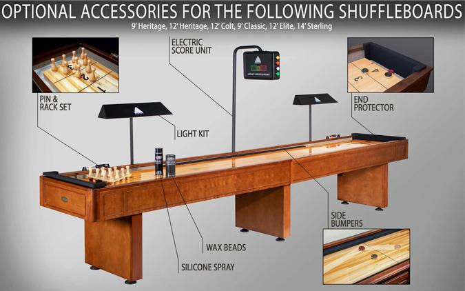 Table de shuffleboard Destroyer Legacy 9'