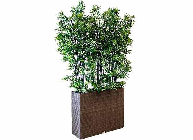 Charmant Patio Room Divider / Planter ...