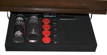 Legacy Landon Shuffleboard 14', Old English
