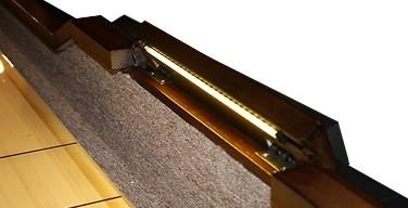 Legacy Winston II 14 foot shuffleboard game table