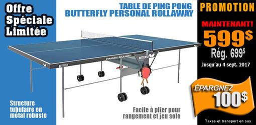 Table ping pong Personal Rollaway Butterfly
