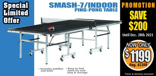 Smash7/INDOOR ping pong tennis table